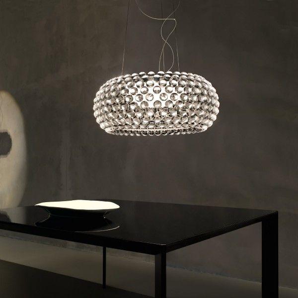 foscarini caboche sospensione grande transparent esstisch girlszimmer pinterest. Black Bedroom Furniture Sets. Home Design Ideas