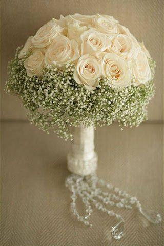 Bridal Bouquet: white