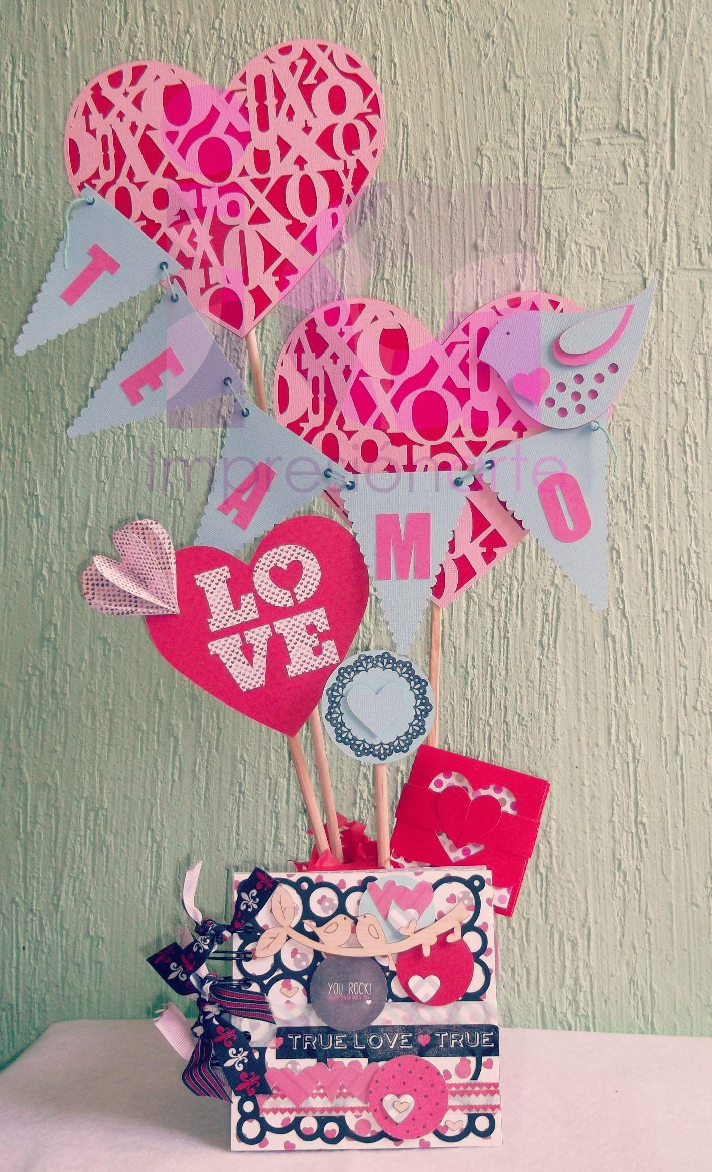 Amor Para Arreglos 14 De Del 14 De Caja Madera Y De En Amistad Dia La Febrero Febrero El
