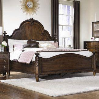 Jessica Mcclintock Mansion Panel Bed | Bedroom furniture ...