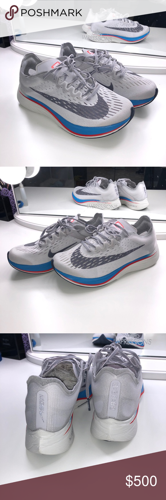 c62843f3add4 Nike Zoom Vaporfly 4% Nike Zoom Vaporfly 4% Vast Grey Light Carbon Elite  Race Running Fly 880847-004 BRAND NEW! Never worn Hard to find shoe Sold  out ...