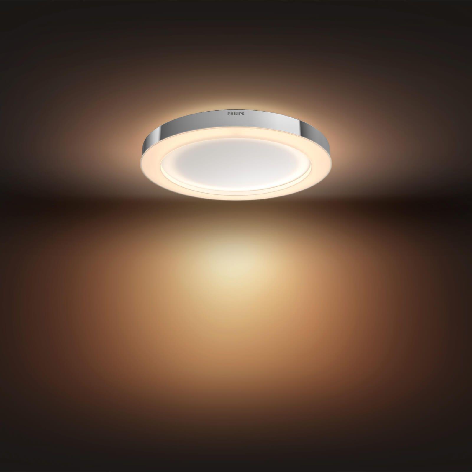 Philips Hue Adore Bathroom Plafondlamp White Ambiance Chroom Met Afbeeldingen Plafondlamp Lampen Verlichting