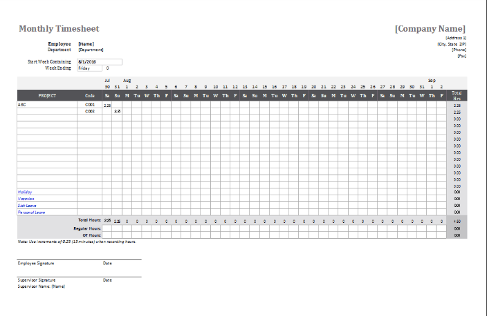 Monthly Attendance Sheet For Employee Excel Attendance Sheet Template Attendance Sheet Attendance Sheet In Excel