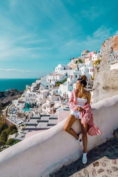 GREECE TRAVEL GUIDE: THE SECRETS OF MYKONOS & SANTORINI - NotJessFashion #travel