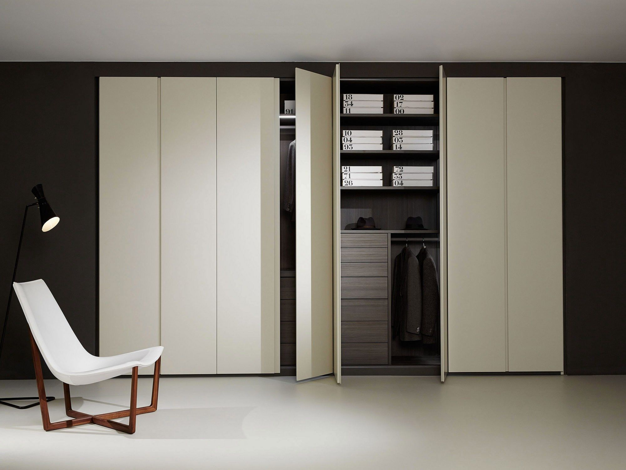 Cool STORAGE Kleiderschrank Kollektion Storage by Porro Design Piero Lissoni