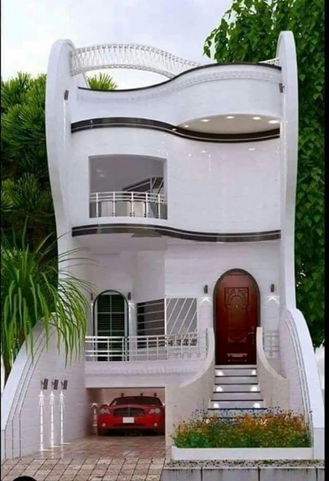 A Mon Avis C Est La Plus Maison Que J Au Vu C Est Une Merveille Modern House Plans Unique House Design House Front Design
