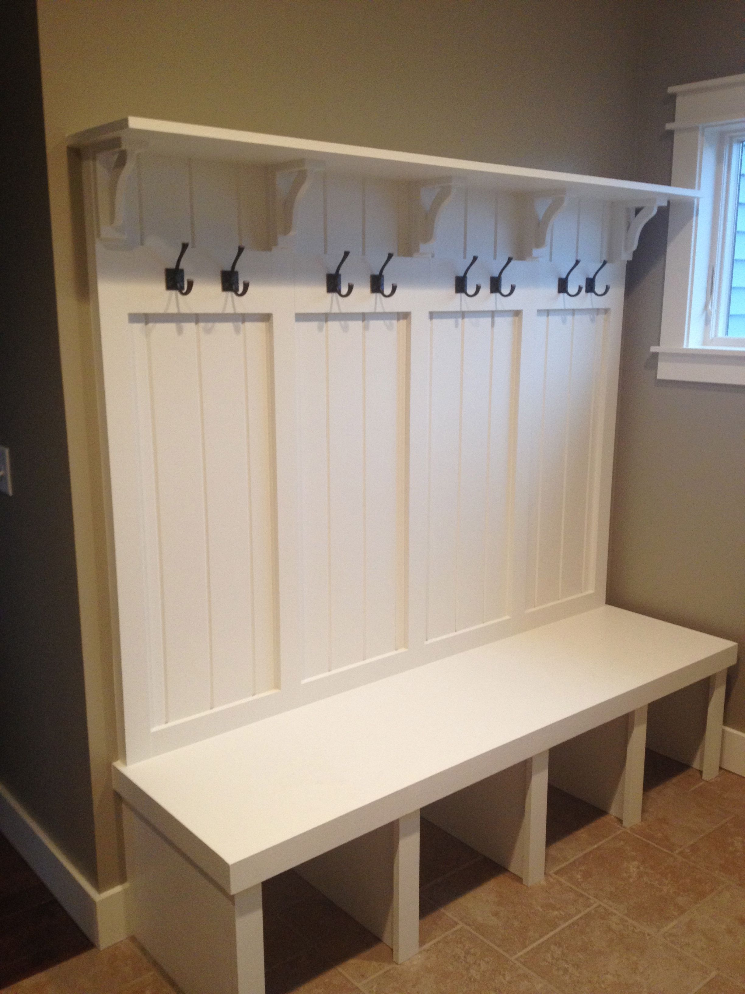 Surprising Entry Way Mudroom Built In Custom Made With By My Hubby We Dailytribune Chair Design For Home Dailytribuneorg