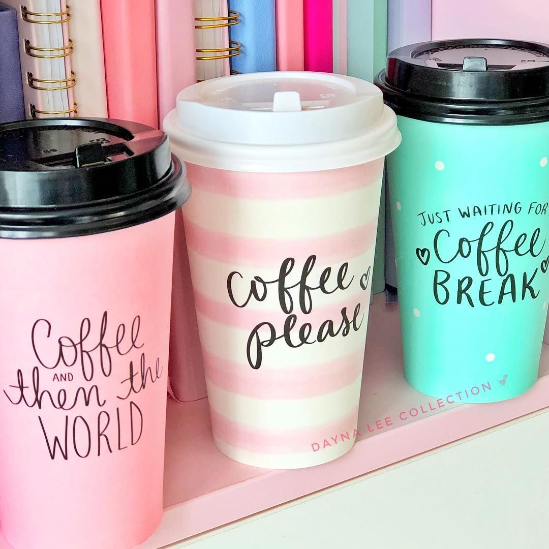 Cute Little Disposable Coffee Cups