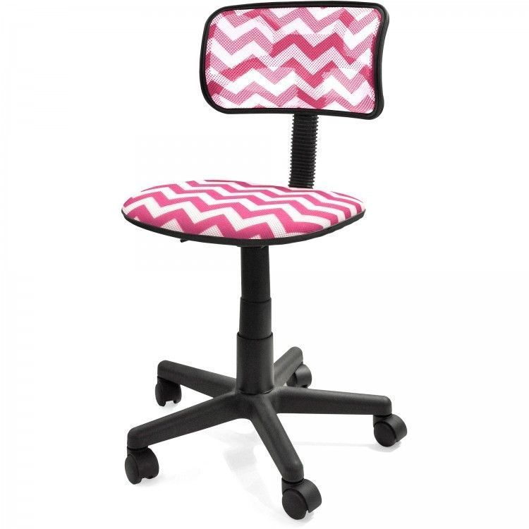 ICYMI: Computer Office Desk Chair Pink Womens Swivel Back