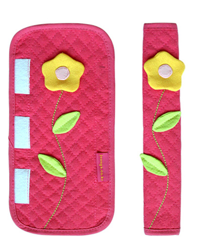 Patchwork Flower Refrigerator Handle Cover 5 Colours