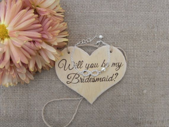 SALE Will you be my bridesmaid wood sign  by BeautifulWeddingDay