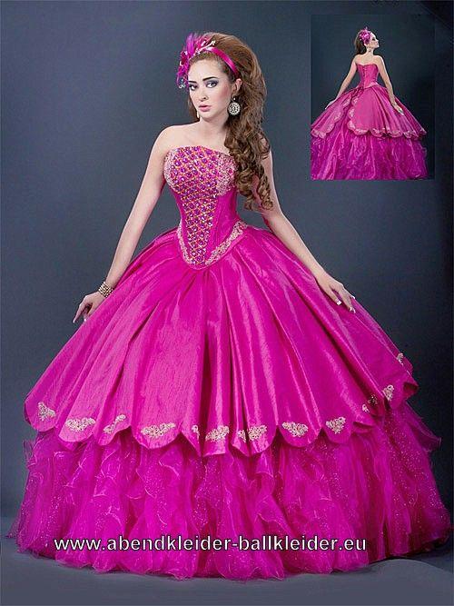 Mein Ballkleid Abendkleid in Pink | party dress | Pinterest ...