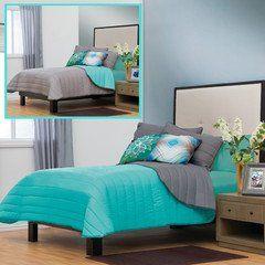 "Elegant ""Monet"" Reversible Comforter Set & Turquoise Harmony Sheet Set (Full) Nyri Store http://www.amazon.com/dp/B00V5T2T2C/ref=cm_sw_r_pi_dp_PbAnvb1RE322D"
