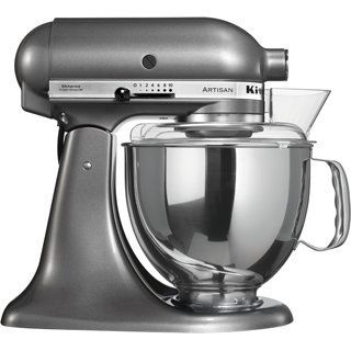 Price: $482.29 - http://bit.ly/2aHOhT5 - KitchenAid 5KSM150PSMS Artisan Stand Mixer, 5-Quart, Medallion Silver - Made entirely in metal sturdy, stable and durable original planetary movement for rapid and homogeneous mixing Direct transmission silent, reliable and durable rounded design Easy to use and to clean, unique fixation system, easy to use and multi-purpose