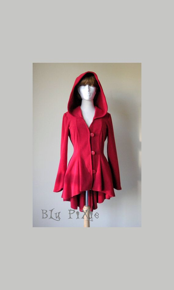 0d4191e9c7f Rose Red High-Low Jacket