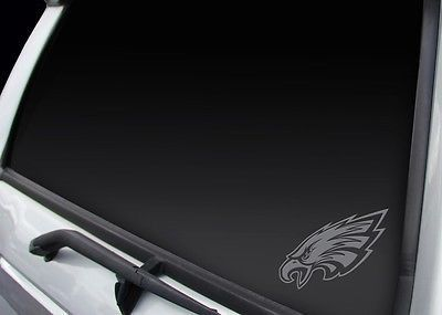 Philadelphia Eagles Window Graphic Decal NEW!! Chrome FREE SHIPPING!