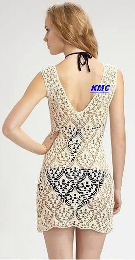 Resultado de imagem para anna kosturova crochet dress