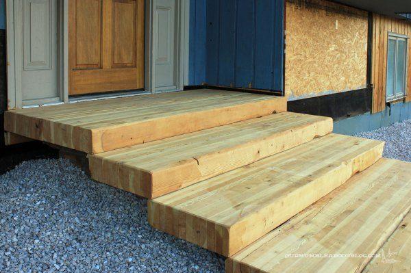 Floating Platform Front Steps Google Search Wooden Wood