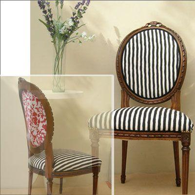 Silla luis xvi rayada galeria clasicos emma peel sillas pinterest - Sillas estilo luis xvi ...
