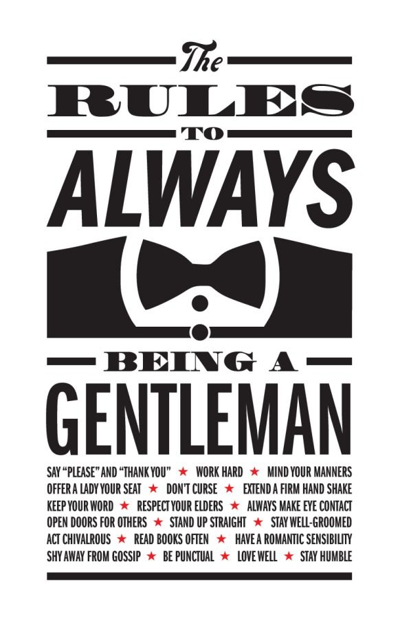 gentlewoman etiquette for a lady from a gentleman pdf