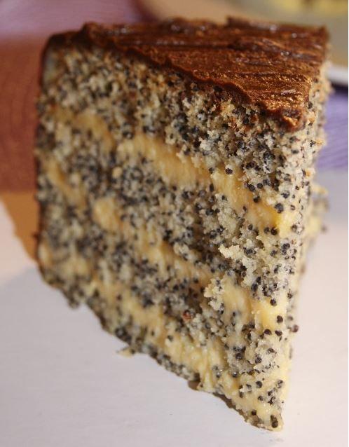 "Poppy seed cake ""Kievlyanochka"" is a popular Ukrainian dessert"