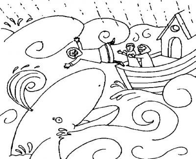 Jonah coloring sheet | JW | Pinterest | La biblia