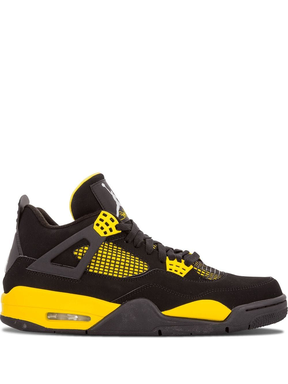 huge selection of a8b29 17591 JORDAN JORDAN AIR JORDAN 4 RETRO SNEAKERS - BLACK.  jordan  shoes