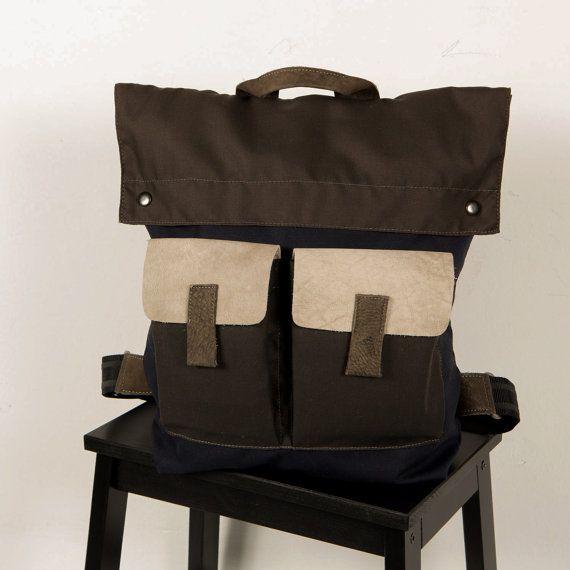 Men's Backpack Men's laptop bag Backpack For Him Gift par Gazur