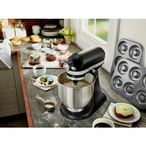 KitchenAid 5KSM3311XBBM Mini Mixer Matte Black KitchenAid - kitchenaid küchenmaschine artisan rot