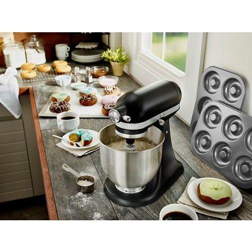 KitchenAid 5KSM3311XBBM Mini Mixer Matte Black KitchenAid - kitchenaid küchenmaschine artisan rot