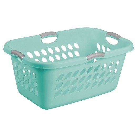 The Sterilite 2 Bushel Ultra Amp 153 Laundry Basket Is Designed With A Wide Rectangular Opening That Is Suitable