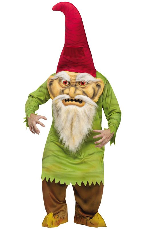 Big Head Evil Gnome Adult Costume #gnomecostume