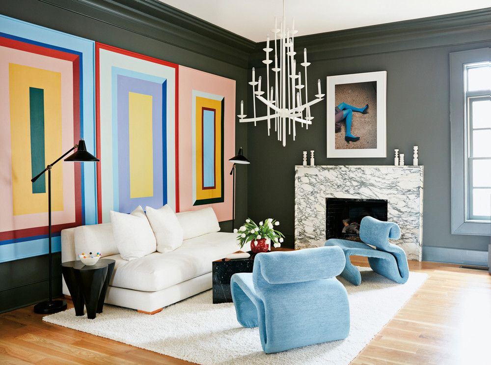 See More Images From Inside An Artist S Bold Rebellious Georgia Home On Domino Com Home Decor Retro Home Decor Interior Design