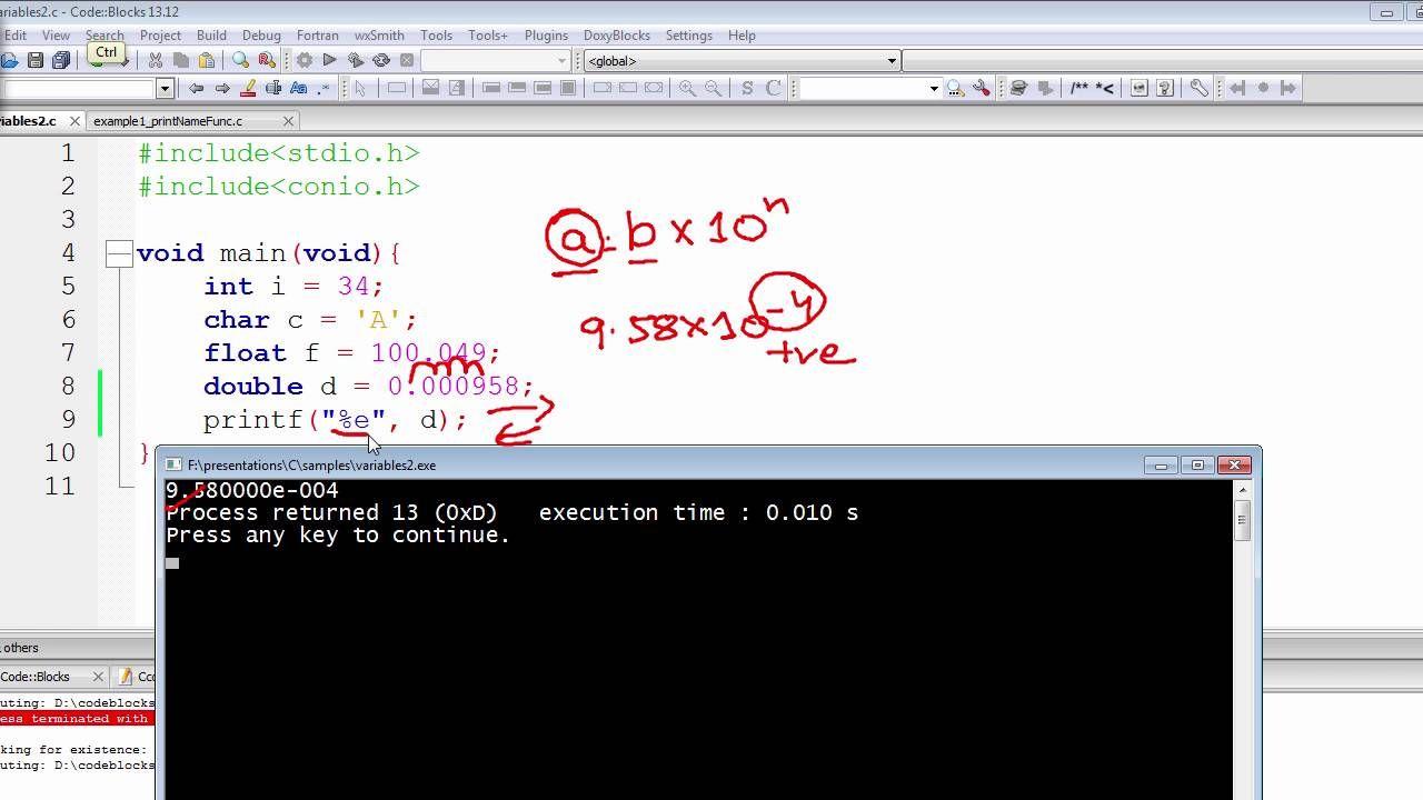 C programming tutorial integer format specifier variable in c programming tutorial integer format specifier variable in printf the c programming language pinterest programming tutorial baditri Gallery