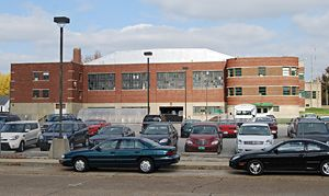 Indiana National Guard Armory ~ Lebanon IN Vintage