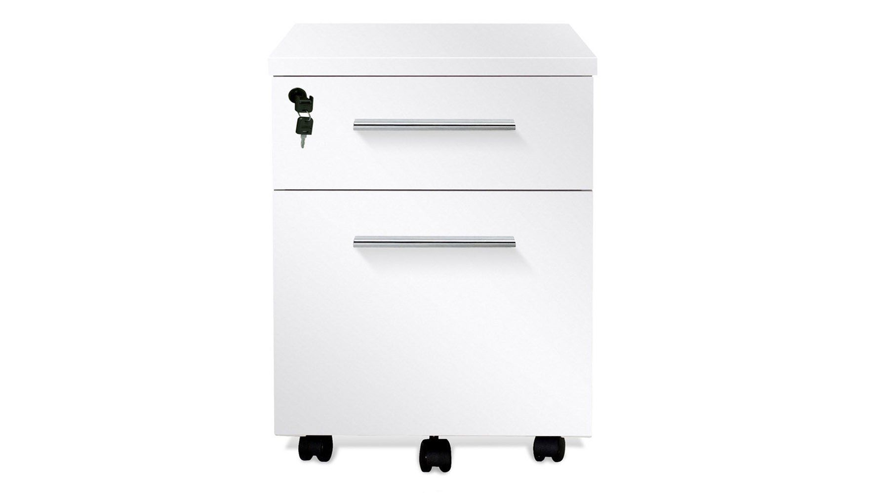 Amazon Com White Lacquer Delano Rolling File Cabinet Office Products Filing Cabinet Cabinet Rolling File Cabinet