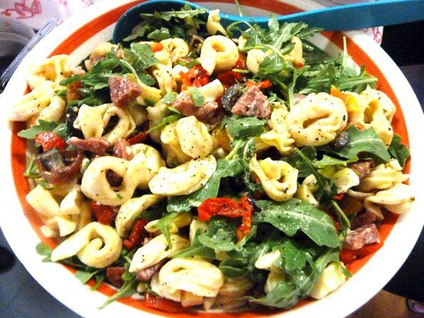Tortellini Salad (The Perfect Potluck Dish)