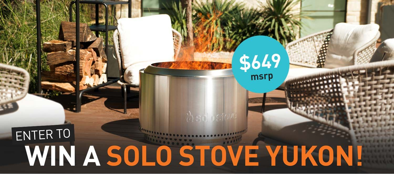 Help Me Win A Free Solostove Yukon Cool Fire Pits