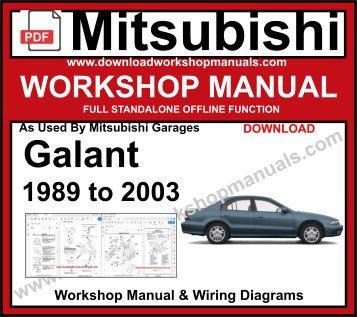 Mitsubishi Galant Workshop Manual Wiring Diagrams Repair Manuals Mitsubishi Galant Auto Repair