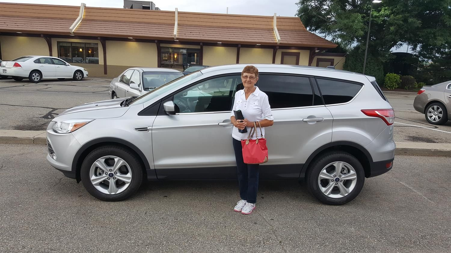 MARILYN's new 2016 Ford Escape! Congratulations and best wishes from Kunes Country Ford Lincoln of Delavan and Daniel Ranson.