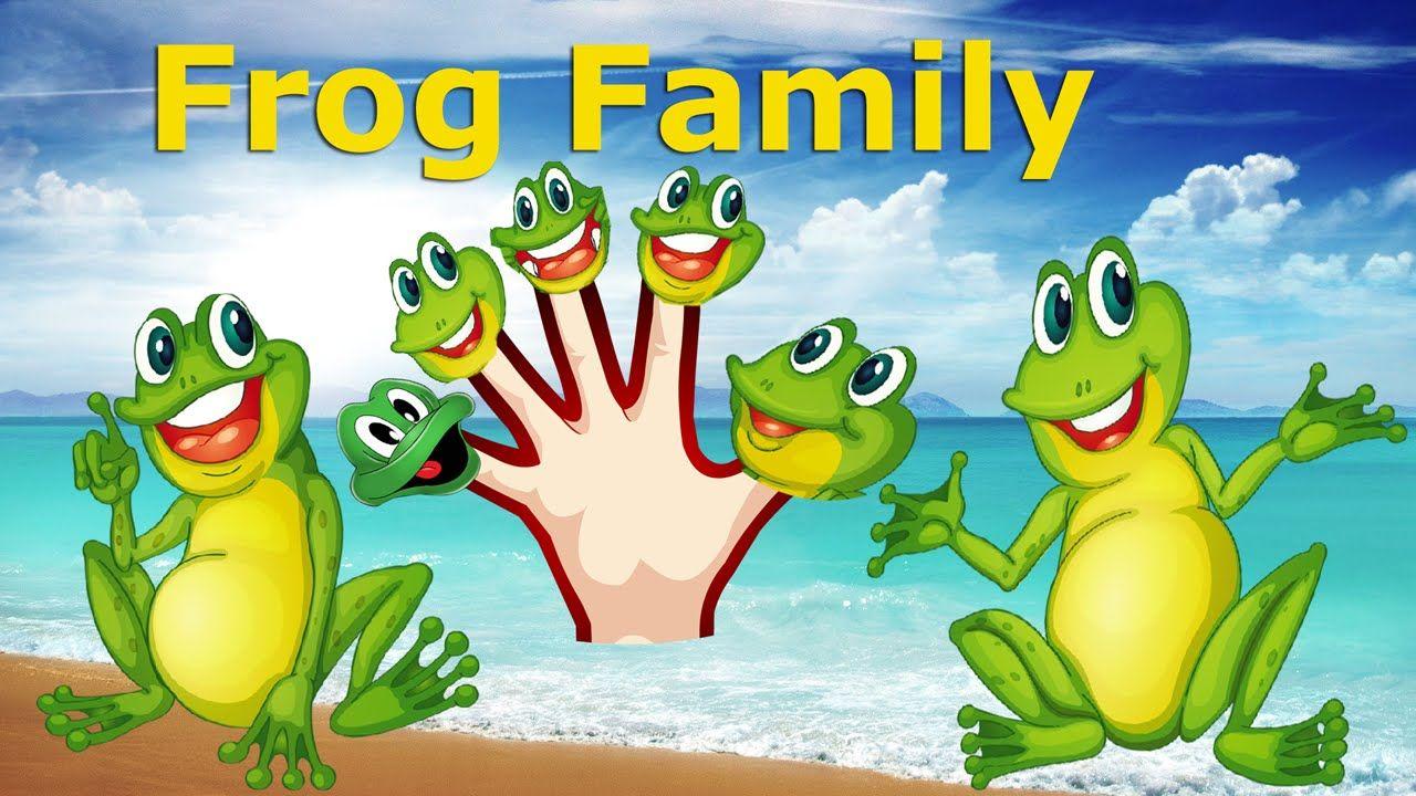 Finger Family Nursery clhildren rhymes Finger family