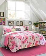 CLOSEOUT! Teen Vogue Poppy Dreams Comforter Sets