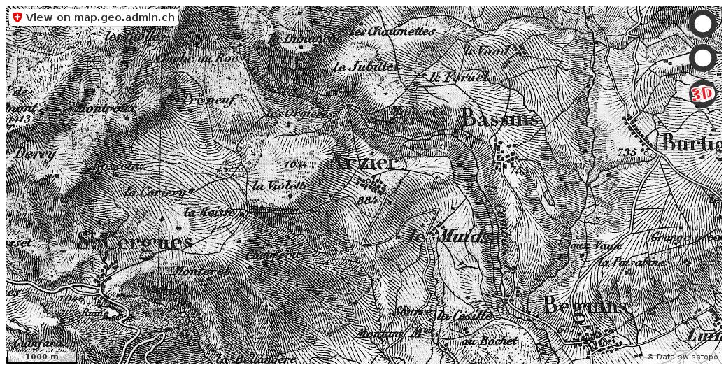 Arzier-Le Muids Historische Karten Routenplaner http://ift.tt/2q9XRY3 #infographic #mapOfSwitzerland