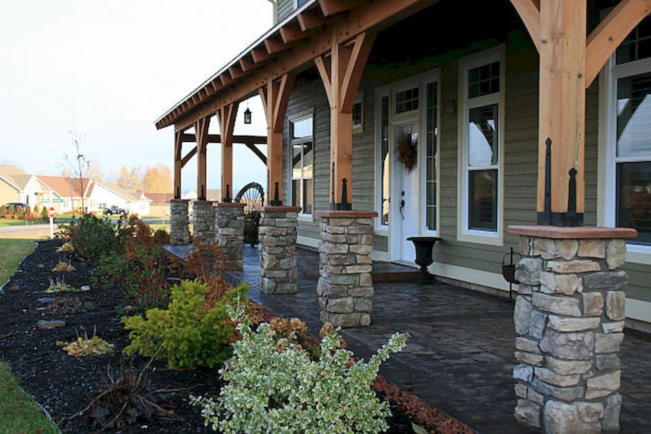 30 stunning farmhouse front porch decorating ideas