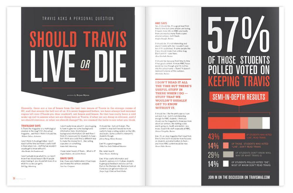 Travis Magazine by Sabrina Smelko