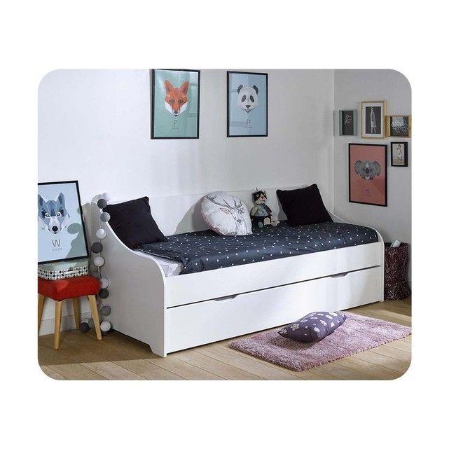 pack lit gigogne lylo 80x200 cm avec 2 matelas ma chambre d 39 enfant deco maison pinterest. Black Bedroom Furniture Sets. Home Design Ideas