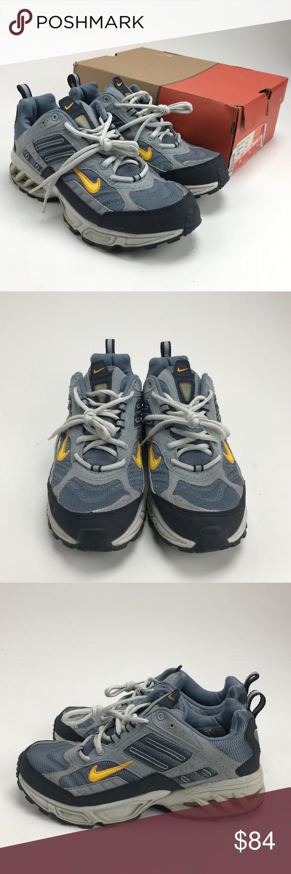 best service f2827 11e3d VTG Nike Air Max Assail Grey Running Womens Sz 10 Nike Air Max Assail Grey  Running
