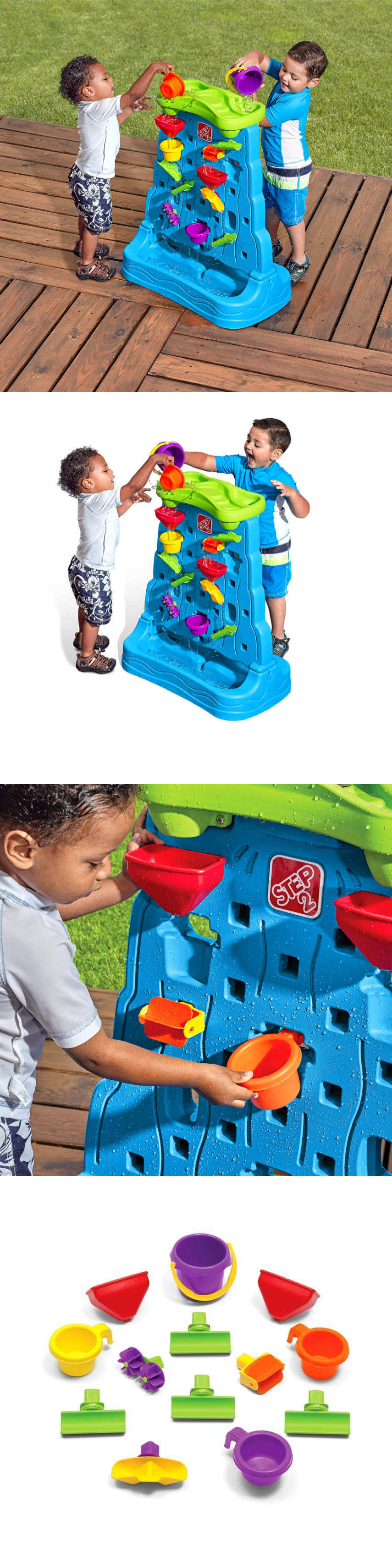 Step 2 Outdoor Toys For 2 Year Old Cool Waterfall Discovery