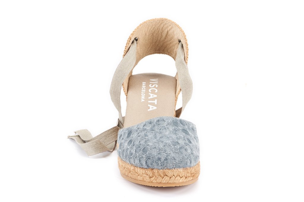 37b50191991 Sagaro Canvas Wedges - Bubble Blue | Products | Womens espadrilles ...