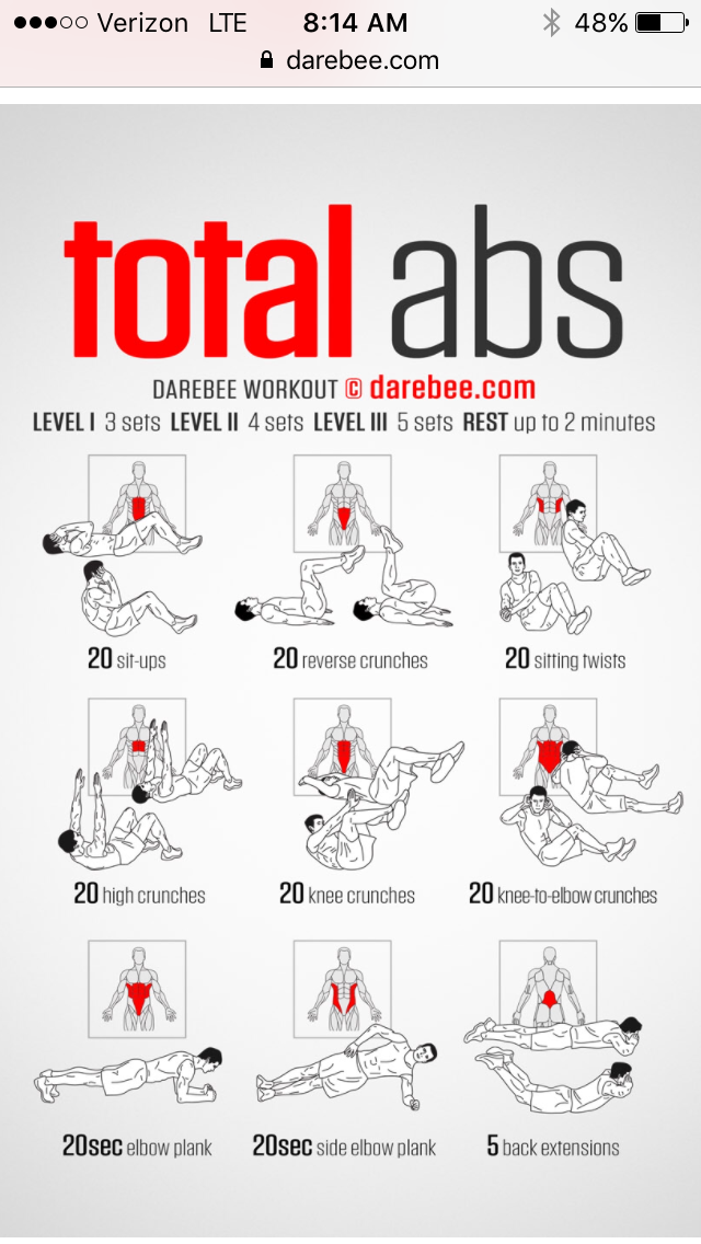 At Home Dumbbell Ab Workout - Born to Sweat